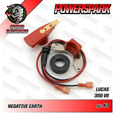 Powerspark Electronic Ignition Kit for Lucas 35D Distributor MG MGB GT 3.5