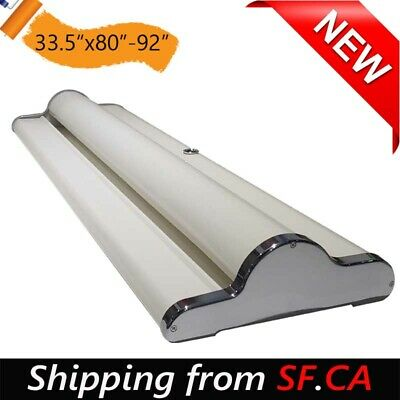 5 pcs,33.5x80,Repeatable Using Deluxe Retractable Roll Up Banner Aluminum Stand