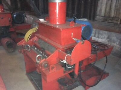 "CIMP   GL800 Scrap Plastic Rubber Granulator Grinder shredder 75 HP - 1/8"" mesh"