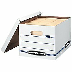 Bankers Box Stor/File Storage Box with Lift-Off Lid, Letter/Legal, 12 x 10 x 15