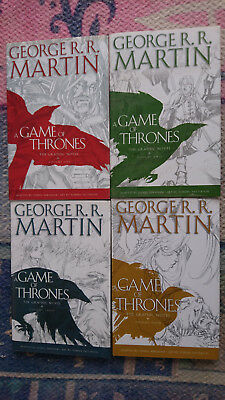 Game Of Thrones Graphic Novels Volumes 1,2,3,4 - George Rr Martin