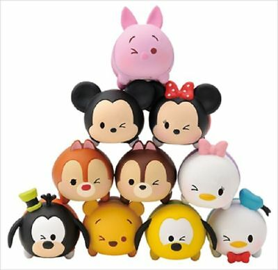 Disney Artbox Tsum Tsum Wink Single eye Pile Up TMU-35 Friends ver (10-Pack) toy