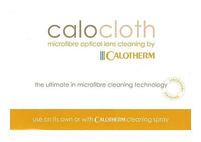 Calocloth - High Quality Microfibre Optical Lens Cleaning Cloth.