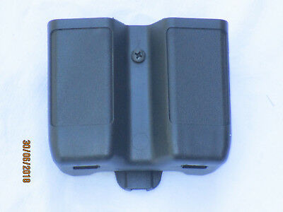 BLACKHAWK Double Stack Double Mag Case,410610PBK,Matte Finish
