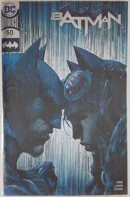 DC Comics BATMAN #50 Silver Foil Jim Lee Variant 2018 SDCC COMIC CON Exclusive