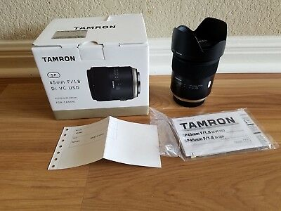 Tamron SP 45mm f/ 1.8 Di VC USD Lens for Canon EF