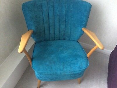 Retro Vintage Mid Century Cocktail Chairs  Excellent Condition