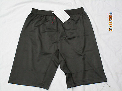 Undershorts,anti Microbial, Black Underwear, Size Large