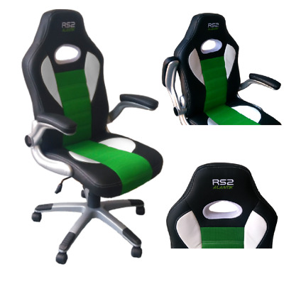 Poltrona Gaming Alantik Rs2 Verde Nera Rs2Grn