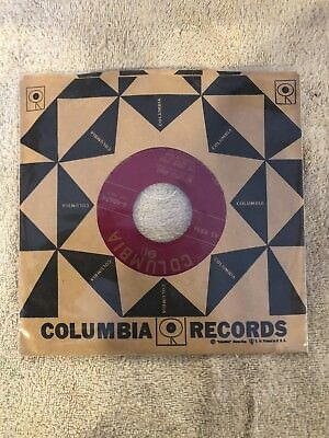 """The Four Lads Columbia Records 7"""" 45rpm """"My Little Angel/Standing On The Co"""" VG+"""
