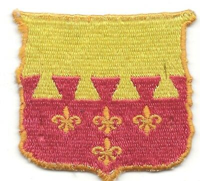Off Ike Jacket German Made 106th Cavalry Regiment Shoulder Sleeve Insignia