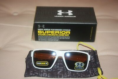 6e81f4a35a UNDER ARMOUR UA Recon Men s Sunglasses Crystal Lime Green Frame Blue ...