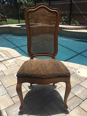 THOMASVILLE? French Provincial Cane Back Dining Chair
