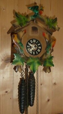 Vintage Black Forest 30 hour mechanical cuckoo clock in working order