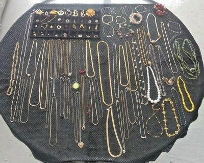 Large Lot Of Vintage Costume Jewelry-Avon-Sarah Cov-Wm. A. Rogers-And More-Nice!
