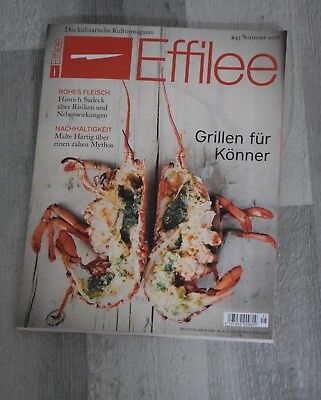 Effilee #45 Sommer 2018 - Deutschlands intelligentes Foodmagazin - NP 9,80€