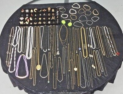 Large Lot Of Vintage Costume Jewelry-Trifari-Avon-Sarah Cov-Monet-And More!