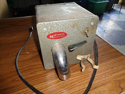 Martinett Barber Valet Hair Vacuum & Dryer Model A
