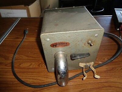 Martinett Barber Valet Vintage Hair Vacuum & Dryer Model A