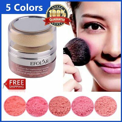 Women Cosmetic Cheek Makeup Blusher Soft Natural Blush Powder YP
