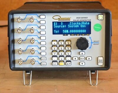 Quantum Composers 9528 Pulse Generator, 8-Channels, 250pS Timing Resolution GOOD