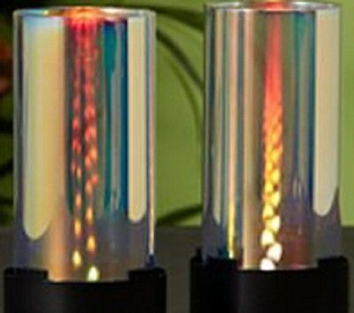 Partylite INFINITE RAINBOW REFLECTIONS TEALIGHT CANDLE HOLDER    NIB