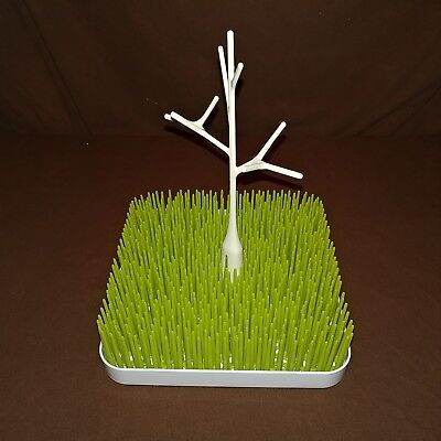Boon Lawn Bottle and Pacifier Counter Top Dryer Grass Drying Rack with Twig