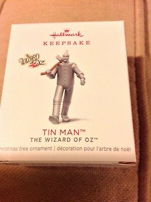 2018 Hallmark LIMITED EDITION Tin Man MINIATURE Wizard of Oz NIB hard to get!NR