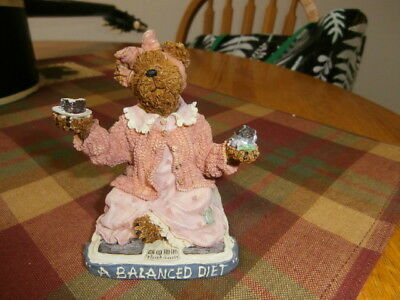Boyds Bears Bearstone Collection Jenny Sweet Tooth