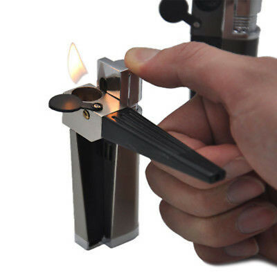 New Metal Cigarette Tobacco Tube Holder Filter Cigar Smoking Pipe with lighter
