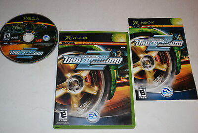 Need for Speed Underground 2 Microsoft Xbox Video Game Complete