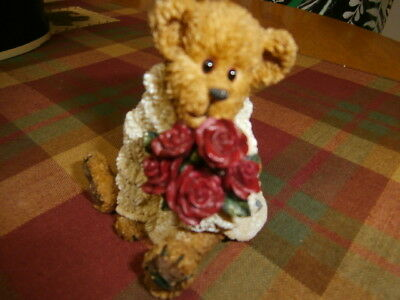 Boyds Bears  Bearstone Collection Dylan ... From the Heart