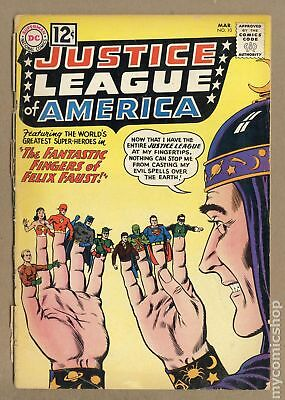 Justice League of America (1st Series) #10 1962 PR 0.5