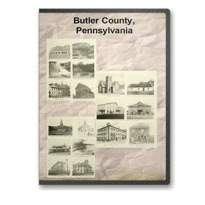Butler County Pennsylvania PA History Culture Genealogy 4 Books - D369