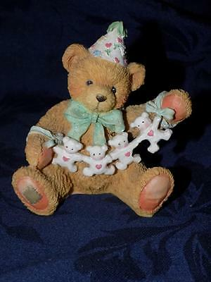 Cherished Teddies Age 4 #911305-Unfolding Happy Wishes  For You 1992