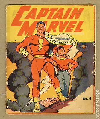 Captain Marvel Adventures (Mighty Midget Miniature) #11A 1942 FR 1.0