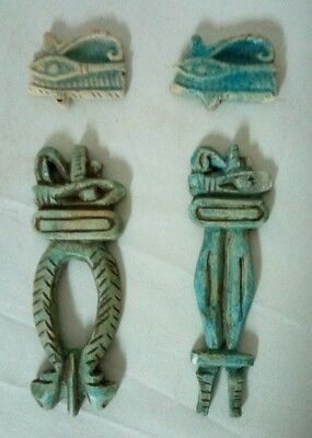 ANCIENT EGYPTIAN ANTIQUE EYE of HORUS Collection 1700-1200 BC