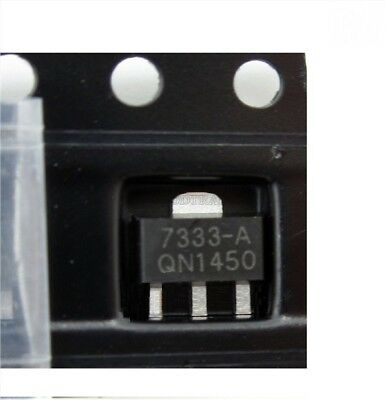 30Pcs HT7333 HT7333-A 3.3V SOT-89 Low Power Consumption Ldo Voltage Regulator x