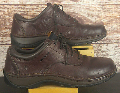Red Wing Mens Brown Leather Steel Toe Work Shoes 8704 Oxfords Size 13D