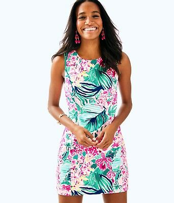 NWT LILLY PULITZER PEARL SHIFT RED RIGHT RETURN 00,0,2,4,6,10 HOLY GRAIL!