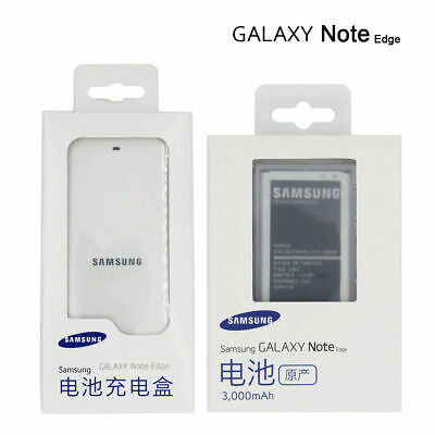 New Original EB-BN915BBU Battery & Charger for Samsung Galaxy Note Edge SM-N915
