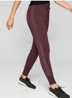 New With Tags Athleta Shine Coaster Jogger Cassis Heather *** Size Large Tall