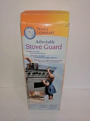 NEW Adjustable stove guard protect from burns baby proofing Prince Lionheart