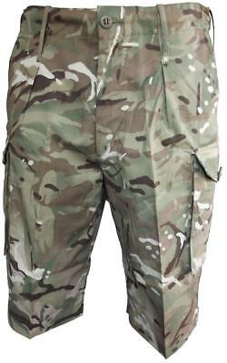Genuine British Army Issue MTP Multi-Terrain Pattern Shorts BRAND NEW