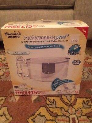 Tommee Tippee | Performance Plus+ | Microwave Steam Steriliser