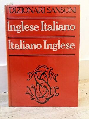 Italian English dictionary - Inglese Italiano / Italiano Inglese