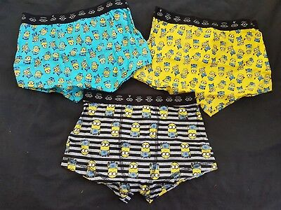 Boys new MINIONS trunks size 4-6
