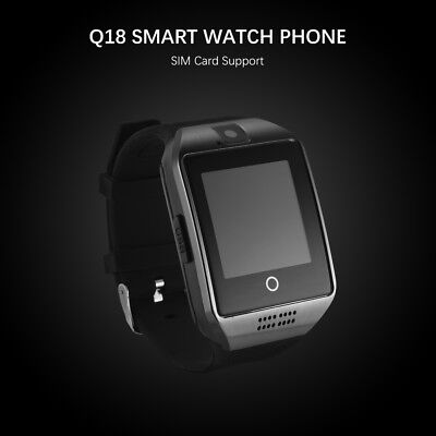 Q18 Touch Screen Bluetooth Smart Wrist Watch Phone Sports For Android IOS AC1118