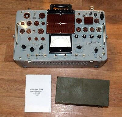 L3-3 USSR Military High-End Tube Tester New Full Set