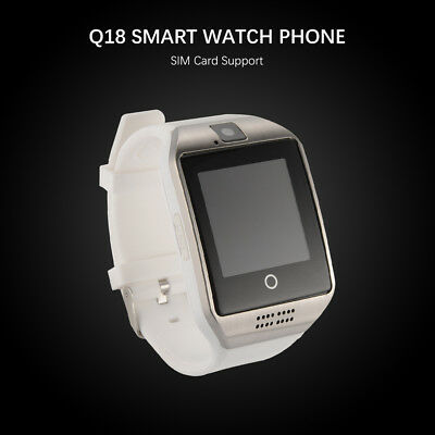 Q18 Touch Screen Bluetooth Smart Wrist Watch Phone Sports For Android IOS AC1121
